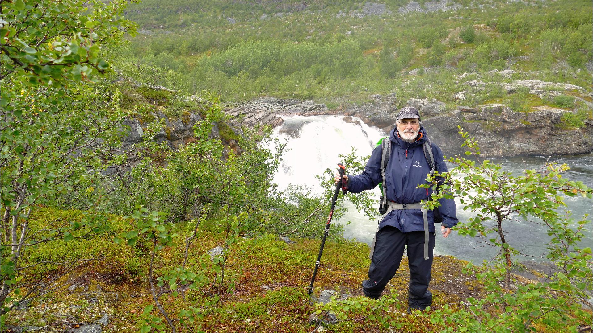 Stabburselva-Wasserfall
