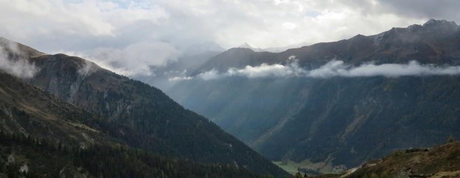 Abstieg nach Valzur im Paznauntal