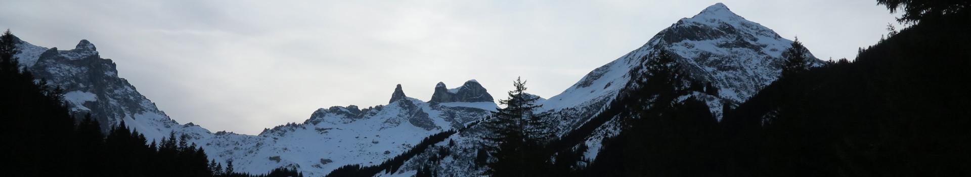 Winterwanderung zur Lindauer Hütte