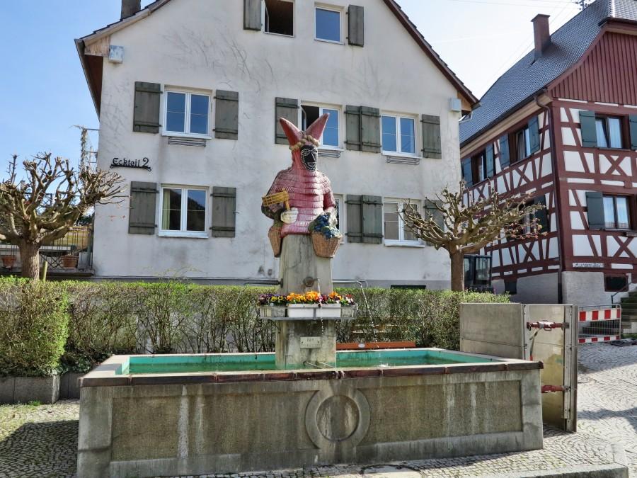 Narrenbrunnen in Sipplingen