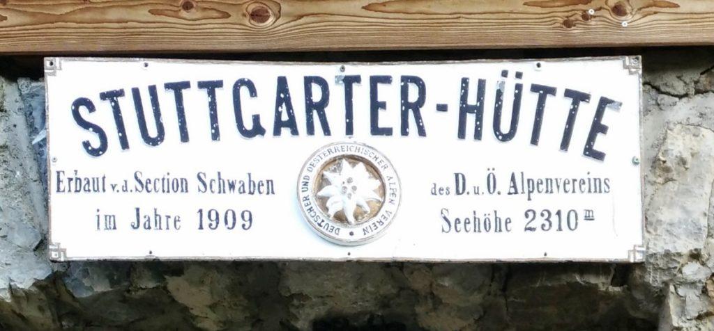 Stuttgarter Hütte - Lechtaler Alpen