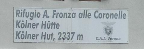 Kölner Hütte - Dolomiten