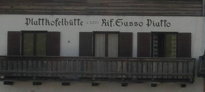 Plattkofelhütte - Dolomiten