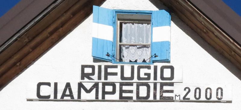 Rifugio Campedie - Dolomiten