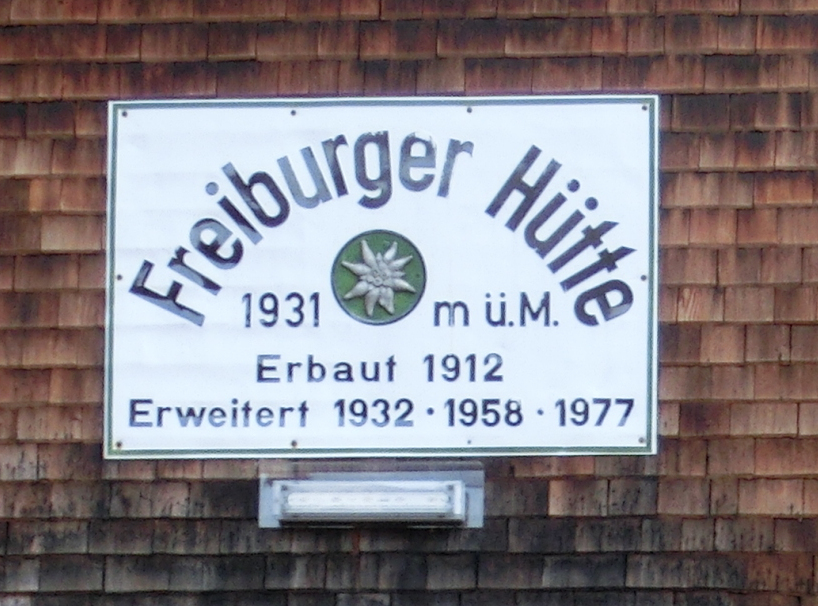 Freiburger Hütte - Lechquellengebirge
