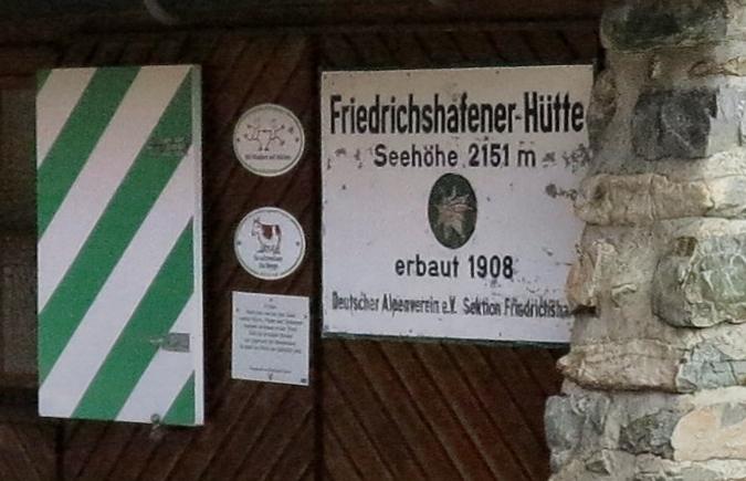 Friedrichshafener Hütte - Verwall