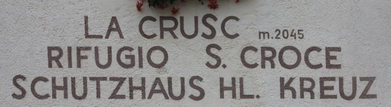 Rifugio S. Croce - Dolomiten
