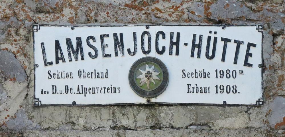 Lamsenjoch-Hütte - Karwendel