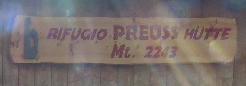 Preuss-Hütte - Dolomiten