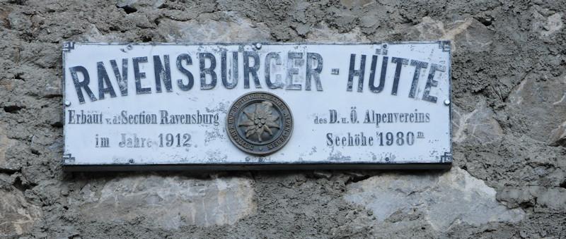 Ravensburger Hütte - Lechquellengebirge