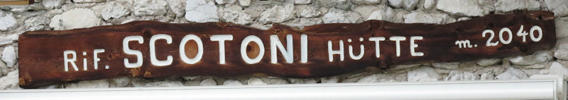 Rifugio Scotoni - Dolomiten