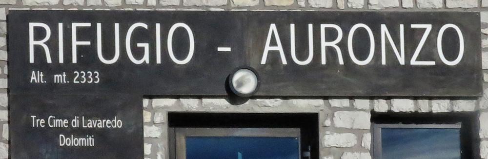 Rif. Auronzo - Dolomiten