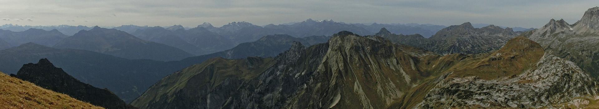 Hüttentour im Lechquellengebirge