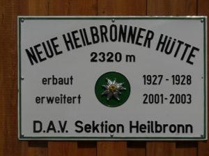 Neue Heilbronner Hütte - Verwall
