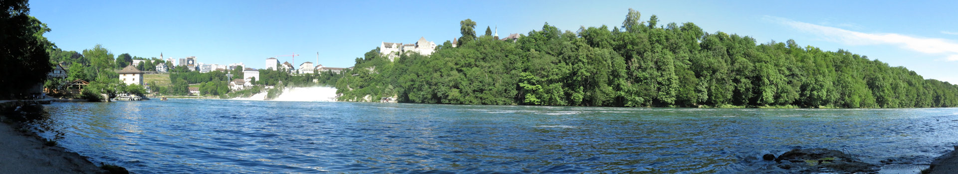 Von Rheinau zum Rheinfall