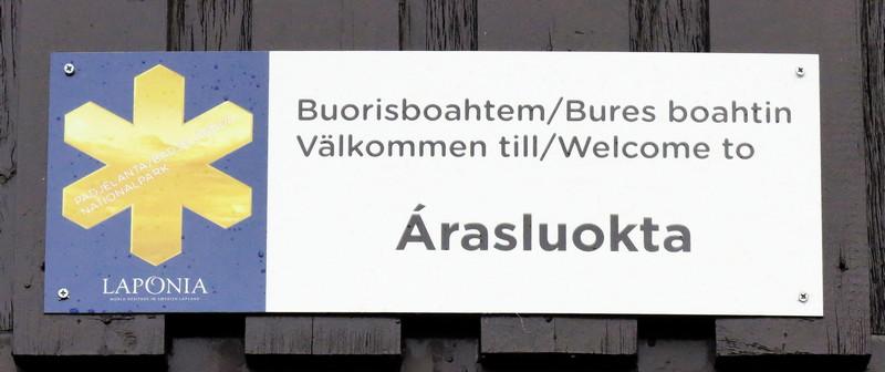Arasluokta - Padjelanta/Schweden