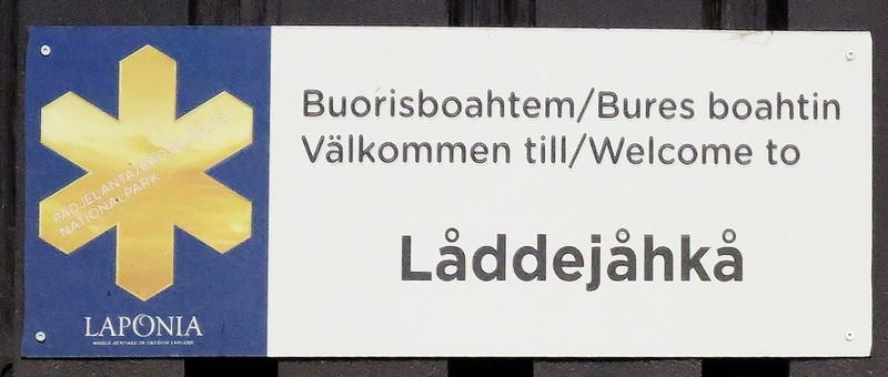 Laddejakka - Padjelanta/Schweden