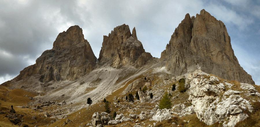 Wanderungen in den Alpen