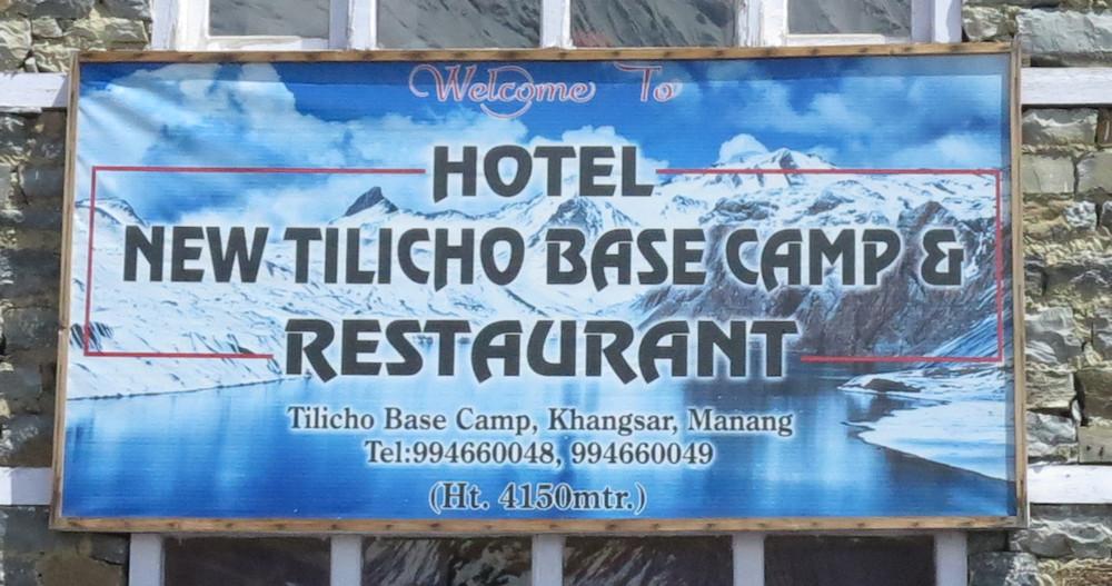 Tilicho-Base-Camp - Annapurna-Region