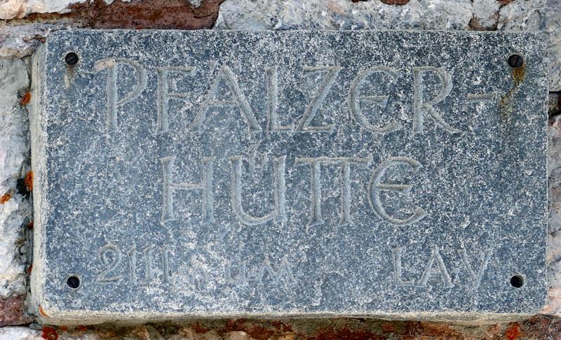Pfälzer Hütte - Rätikon - Liechtenstein