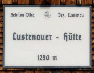 Lustenauer-Hütte - Bregenzer Wald