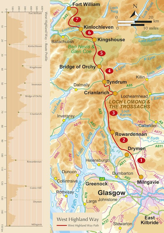 West Highland Way Vorbereitung Wildnis Wandern De