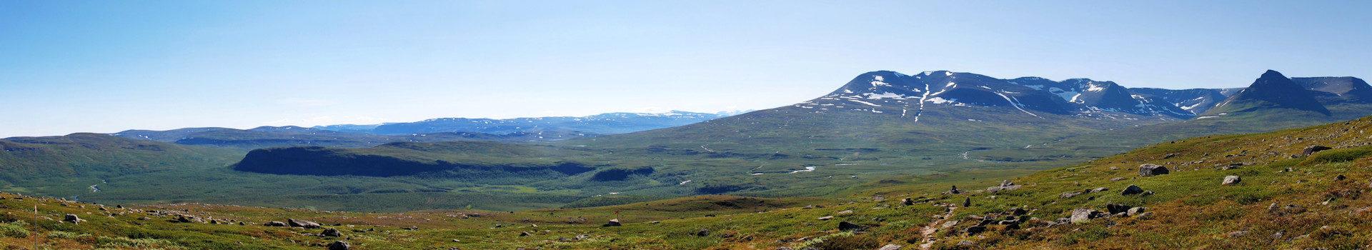 Grenzpfad von Troms – Etappe 2