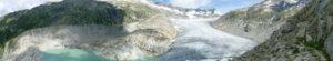 Eine kurze Wanderung zum Rhonegletscher
