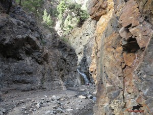 Kaskade des Rio Almendro Amargo