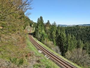 Bahnlinie Neustadt-Donaueschingen