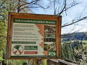 Schwendeholzdobel-Brücke